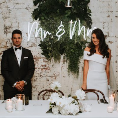 wedding signs brisbane