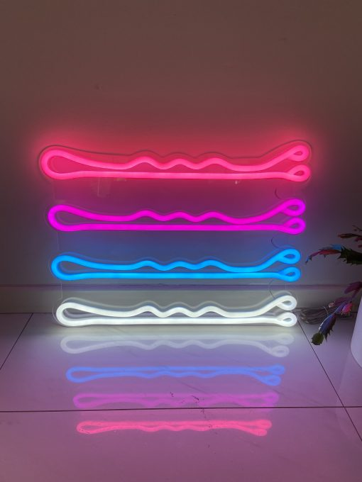 Bobby Pins Neon Sign