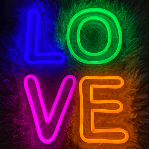 led love neon sign