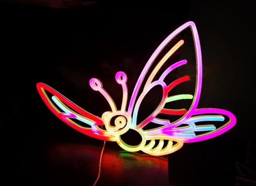 Butterfly Neon Multicolour