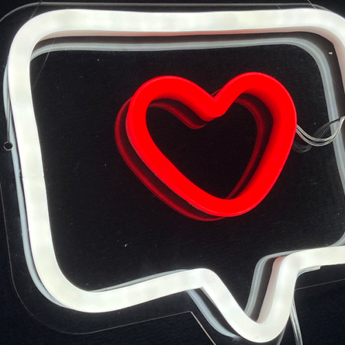 heart neon signs