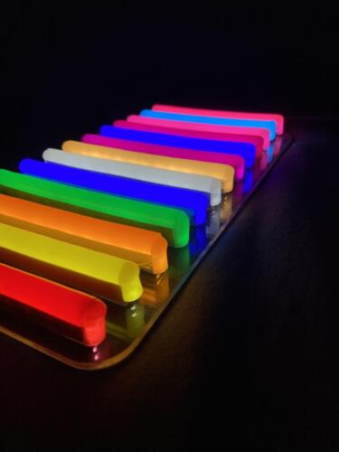 neon colours for signs